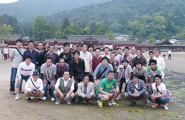 社員旅行 広島(宮島と厳島神社)
