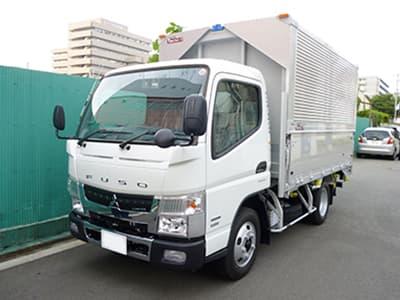 2tトラック(ウイング)