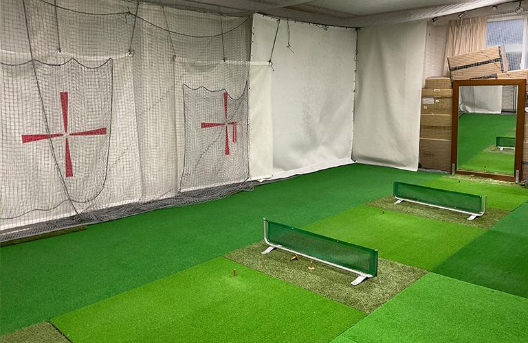 屋内ゴルフ練習施設1【3打席】