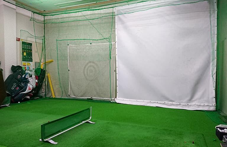 屋内ゴルフ練習施設2【2打席】