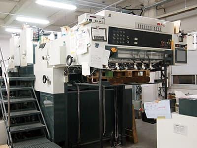 菊全判2色両面印刷機(2/2色)