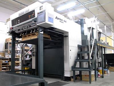 四六全判2色両面印刷機(2/2色)