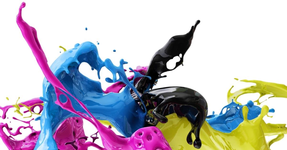 オフセット印刷の色表現